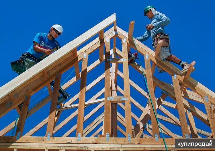 Строительство крыши, мансарды в Пензе, бригада кровельщиков