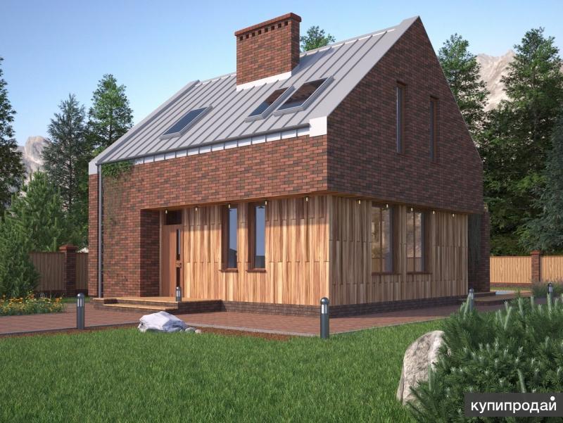 Типовой проект RKS Style №3 общей площадью 122,4 кв.м (с террасой включительно)