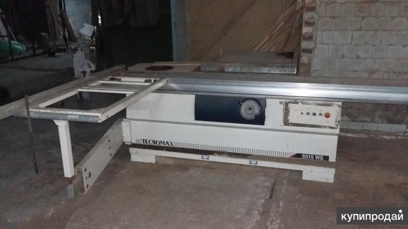 Продам Форматный раскроечный станок Tecnomax S315WS (SCM Group, Италия)