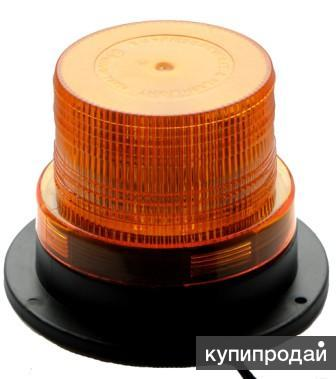 Светодиодный (светозвуковой) проблесковый маячок «Блеск220/ЛЗ» 60ДБ (свето-звуко