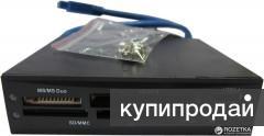 """2346320 3Q CRI3002 cardreader usb 3.0 в 3,5""""(флоппи юнит)"""