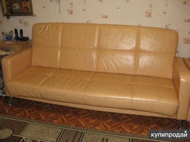 Продам диван и кресло из кож.зама импортного.,