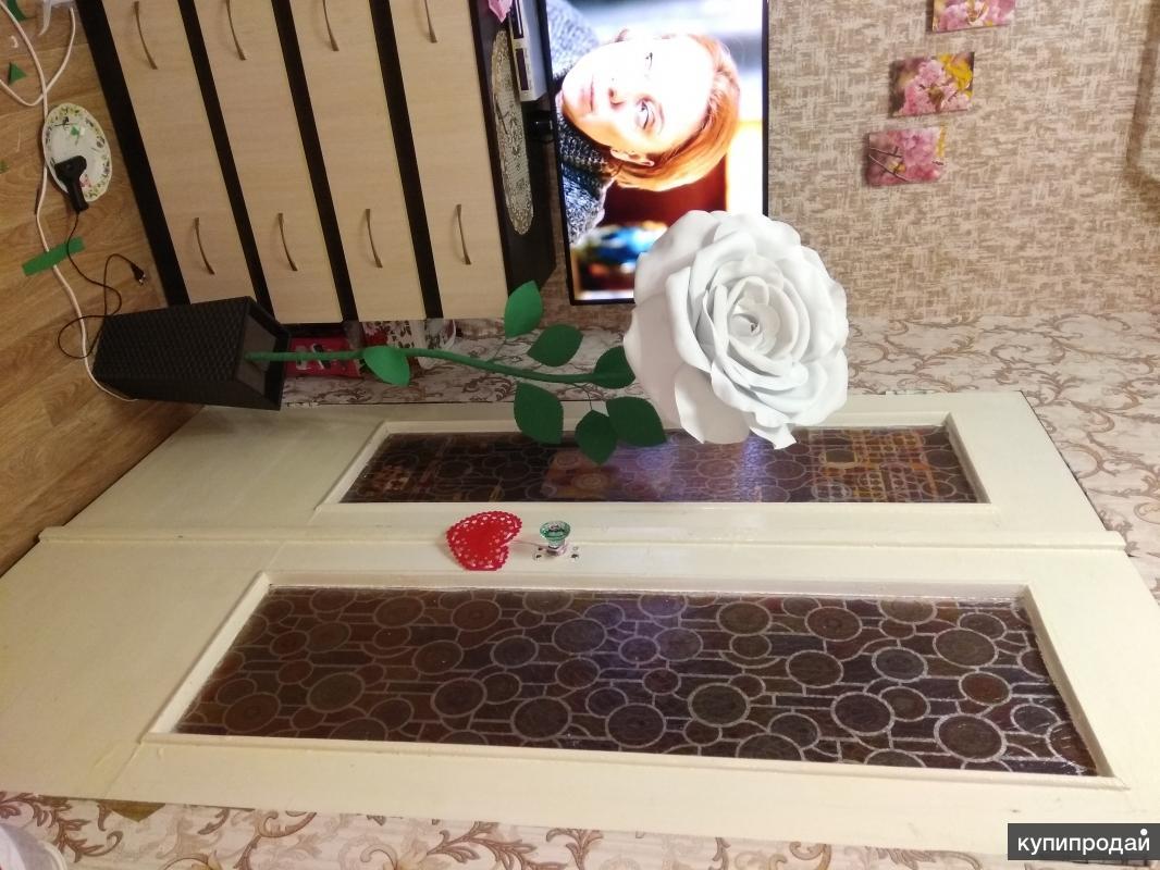 Торшер роза