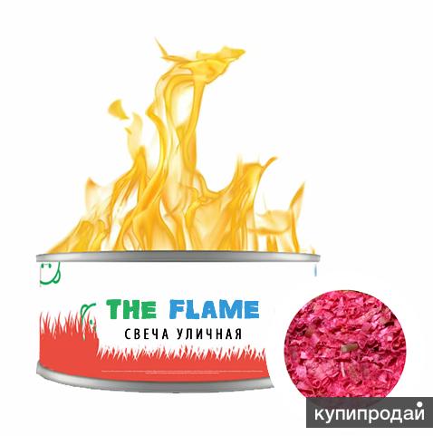 Уличная свечa THE FLAME