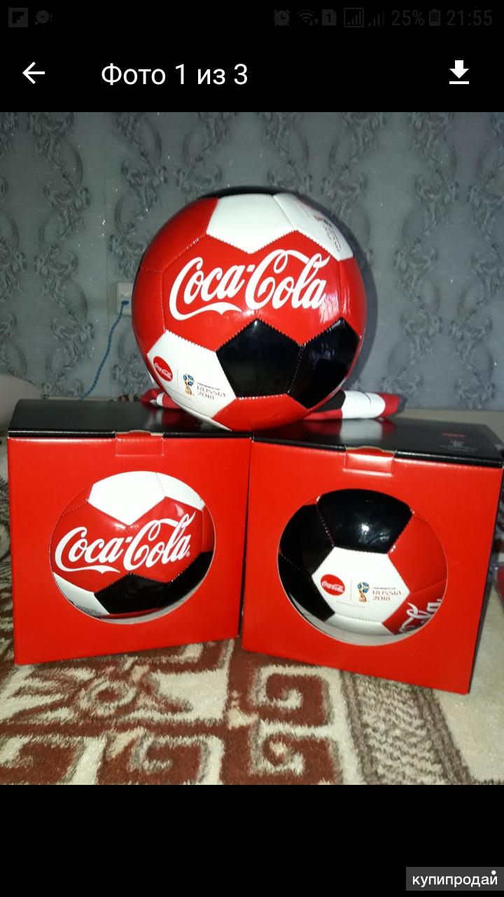 Мяч Футбольный Coca-Cola
