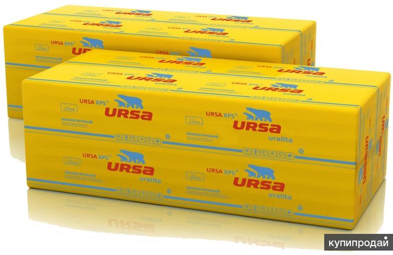 URSA XPS-плиты из экструдированного пенополистирола