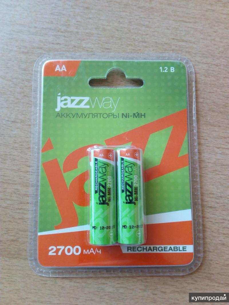Аккумуляторы АА JazzWay 2700 mA/h