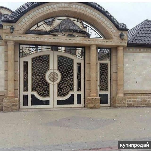 этот фото самые красивые ворота для дома чечни это просто пассивный