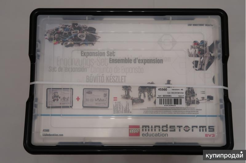 Конструктор Lego Mindstorms Education ev3 (ресурсный набор) 45560