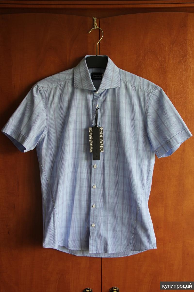 Новая рубашка Alfred Muller, р. S (44 - 46)