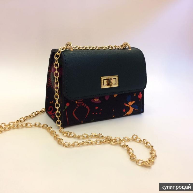 Яркая дизайнерская сумочка !!!