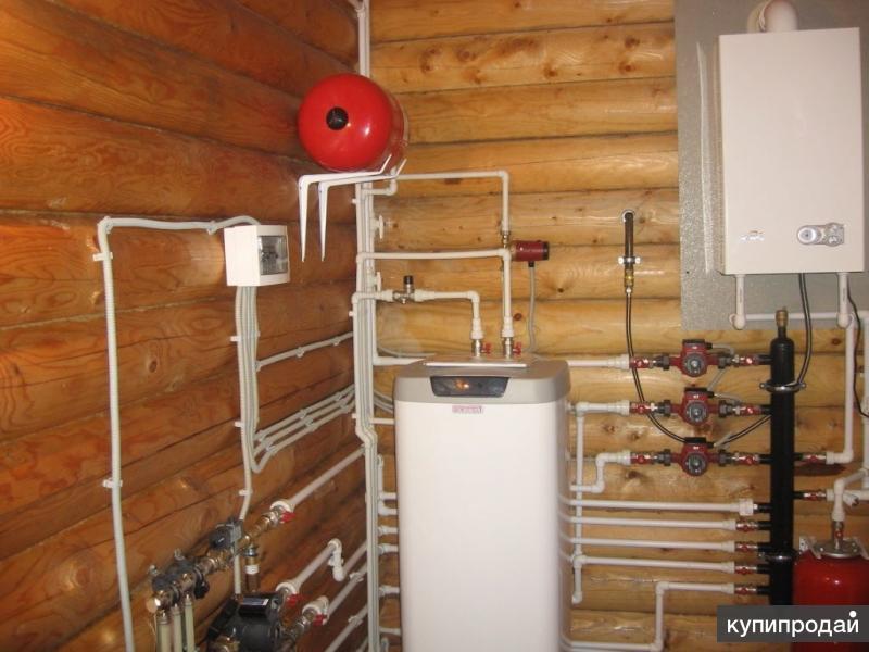 Отопление/Водоснабжение/Водоотведение/Канализации/Электрика/Теплый пол