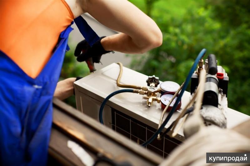 ...Ремонт, профилактика, чистка сплит систем (кондиционеров) в Краснодаре...