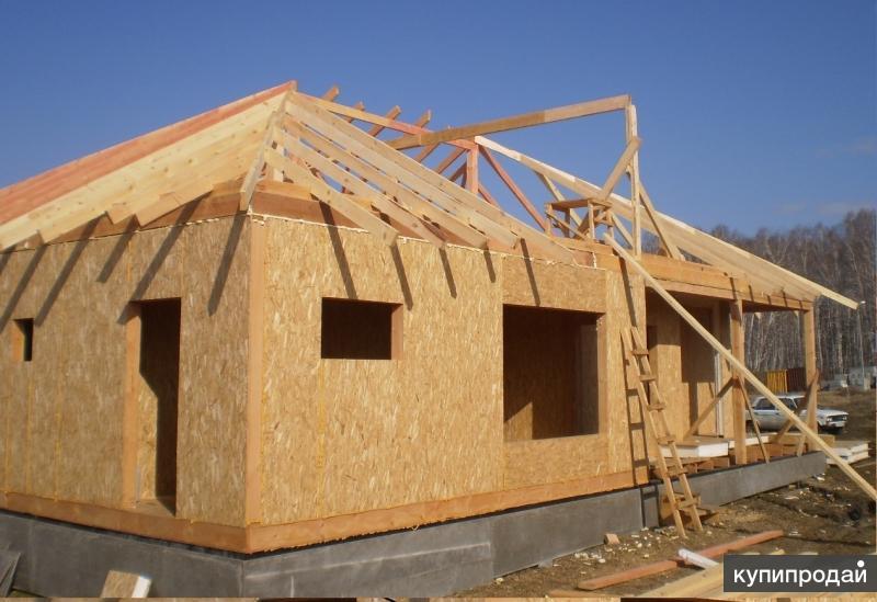 Строительство дачного садового домика домов и коттеджей из сип панелей Челябинск
