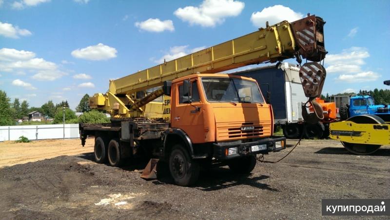 Ивановец 25 тонн на базе камаз