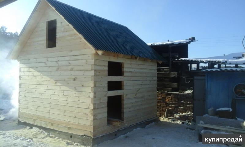 Строительство ремонт бани дачи дома