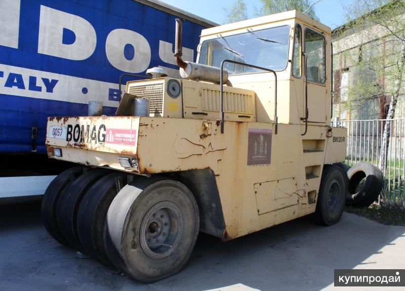 Каток грунтовый Bomag BW 20R 1997 год