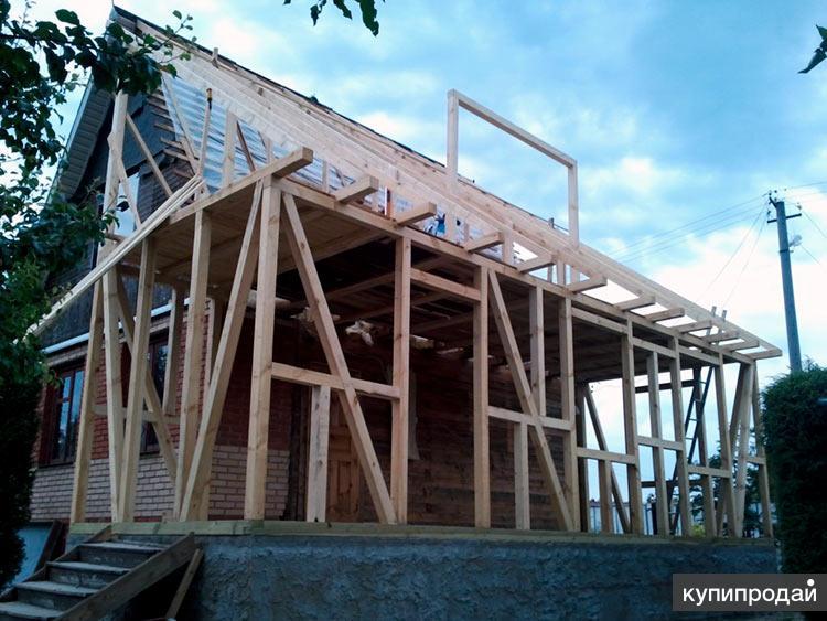 Реконструкция частного дома, дачи - пристройка в Пензе