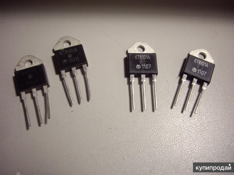 Транзисторы  КТ8101А  и КТ8102А