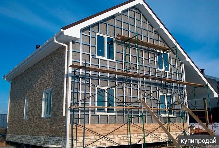 Ремонт фасада коттеджа, многоэтажного дома Пенза