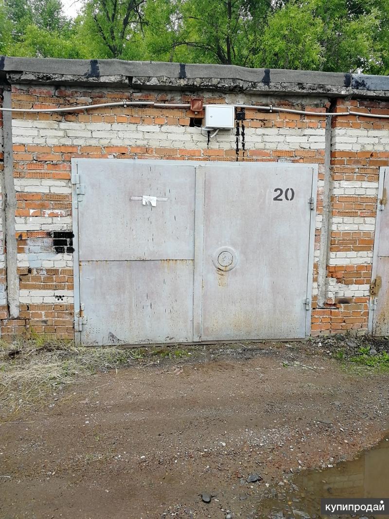 продам охраняемый гараж