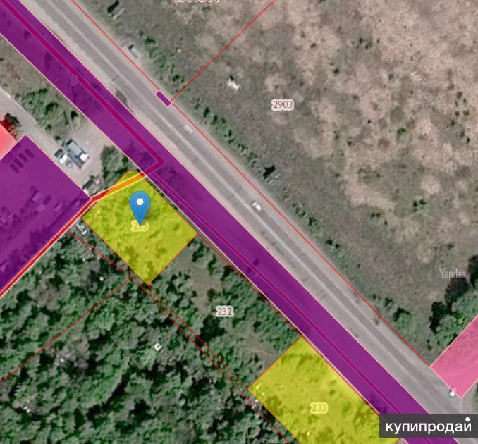 Продаю земельный участок, с Засечное, ул. Лесная. 5313 м2