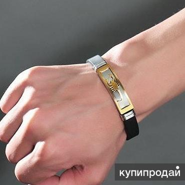 Мужской браслет Золотой Скорпион RM237