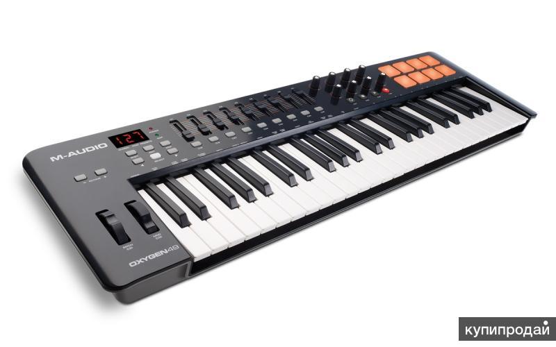 Миди клавиатура M-Audio Oxygen 49 MK 4