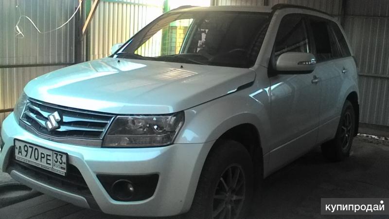 Suzuki Grand Vitara, 2014