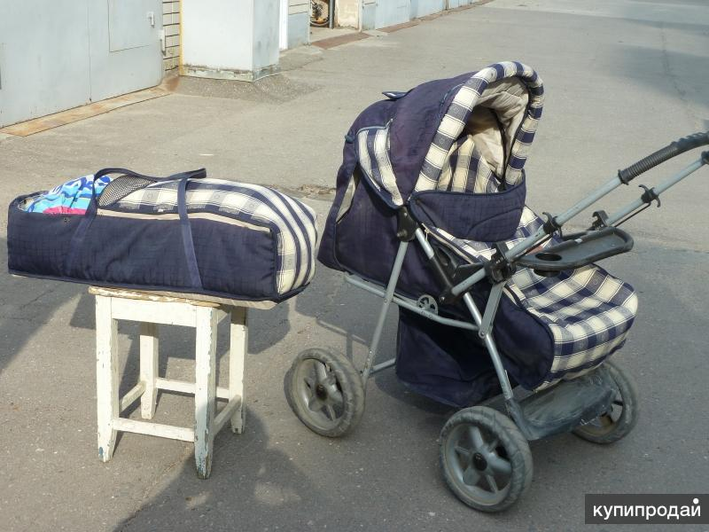 Продаю детскую коляску б.у.