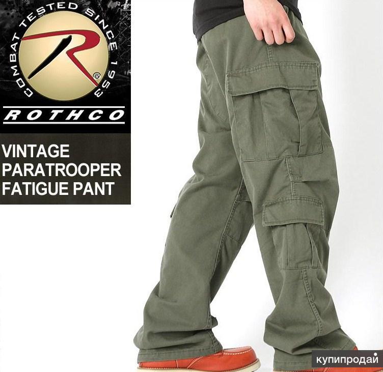 Мужские брюки-Rothco UF Vintage Paratrooper Olive