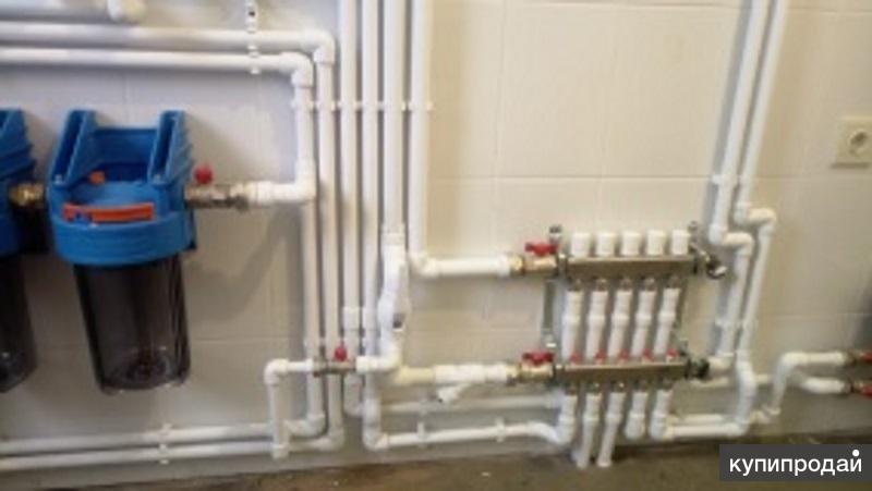 Монтаж отопления электрики и водоснабжения и канализации