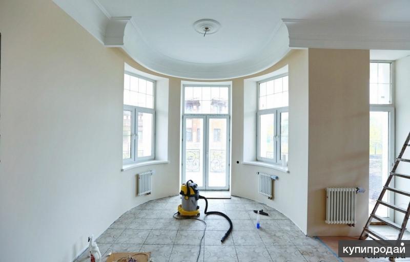 Ремонт и отделка любой сложности квартир, офисов и производственных помещений