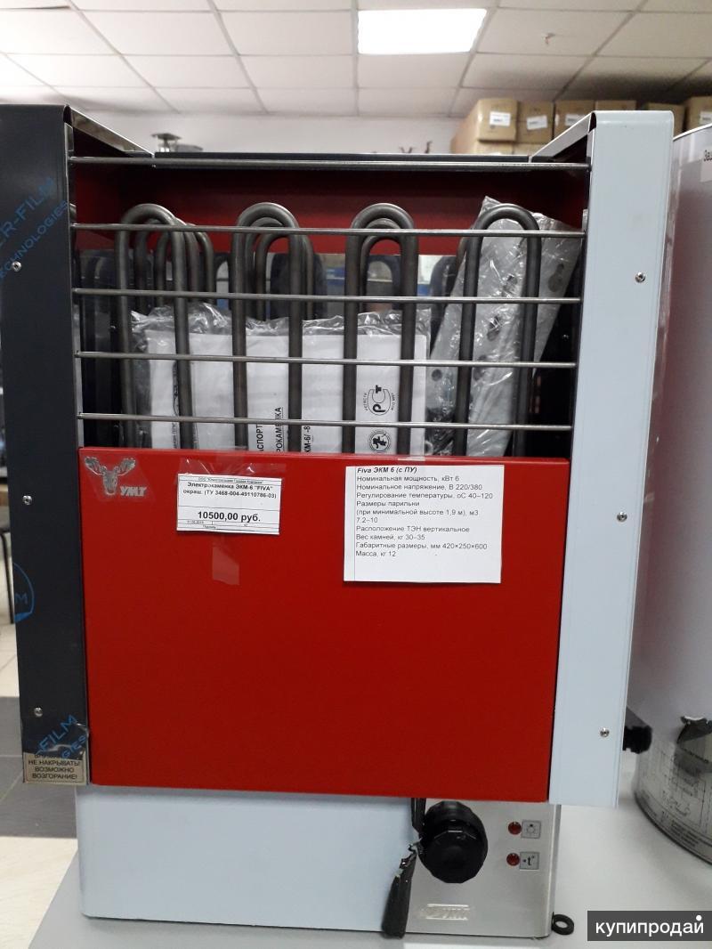 Электрокаменка ЭКМ-6 Fiva окраш, Дельта-3 кВт 2-4м3