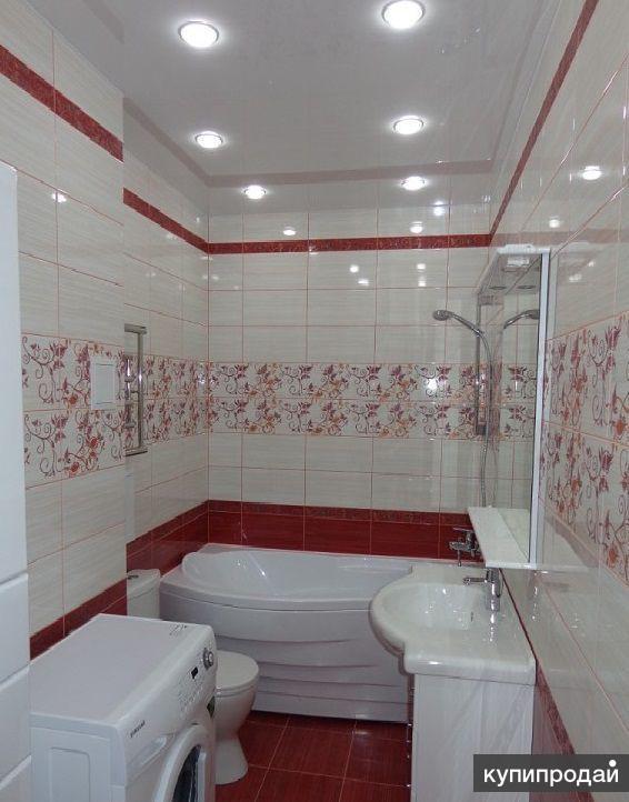 Ремонт ванных комнат,санузлов под ключ