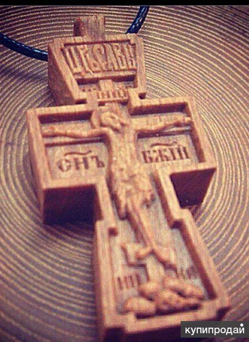 Крестик резной