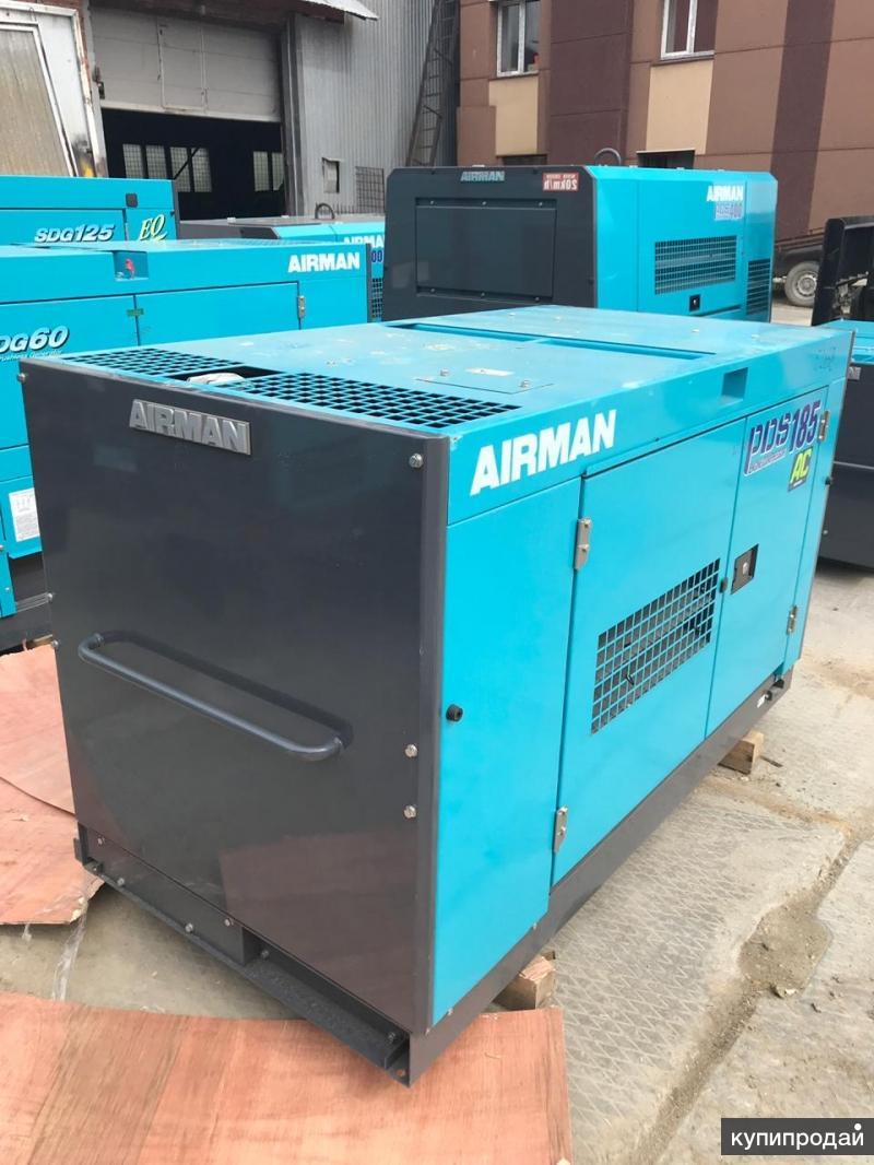 Аренда компрессора Аирман с 3 молотками