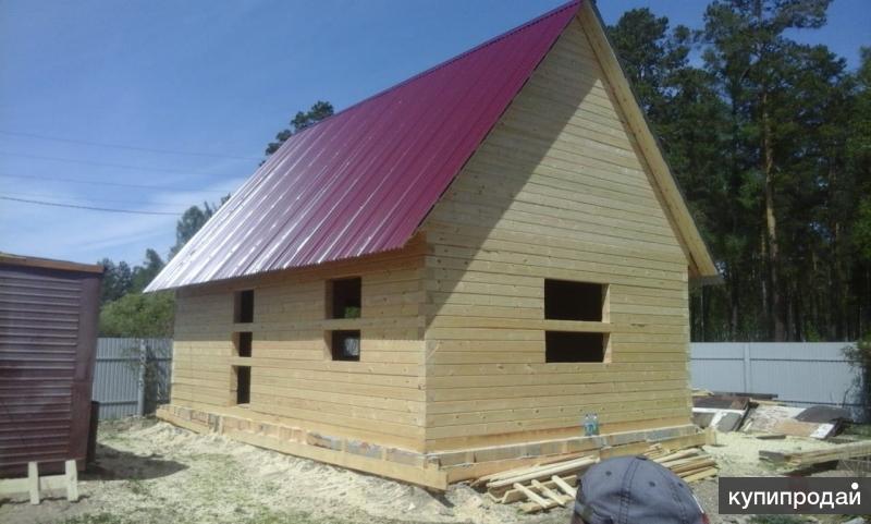 Строительство бани дачи дома