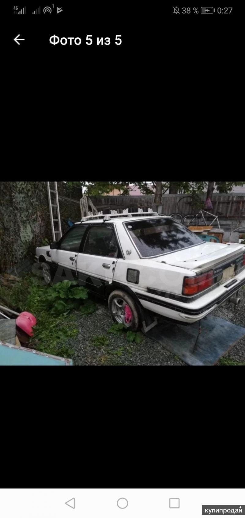 Toyota карина