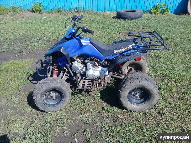 Квадроцикл Scorpion 125a