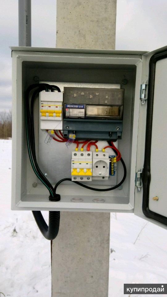 Электромонтаж, 15 кВт, МОЭСК