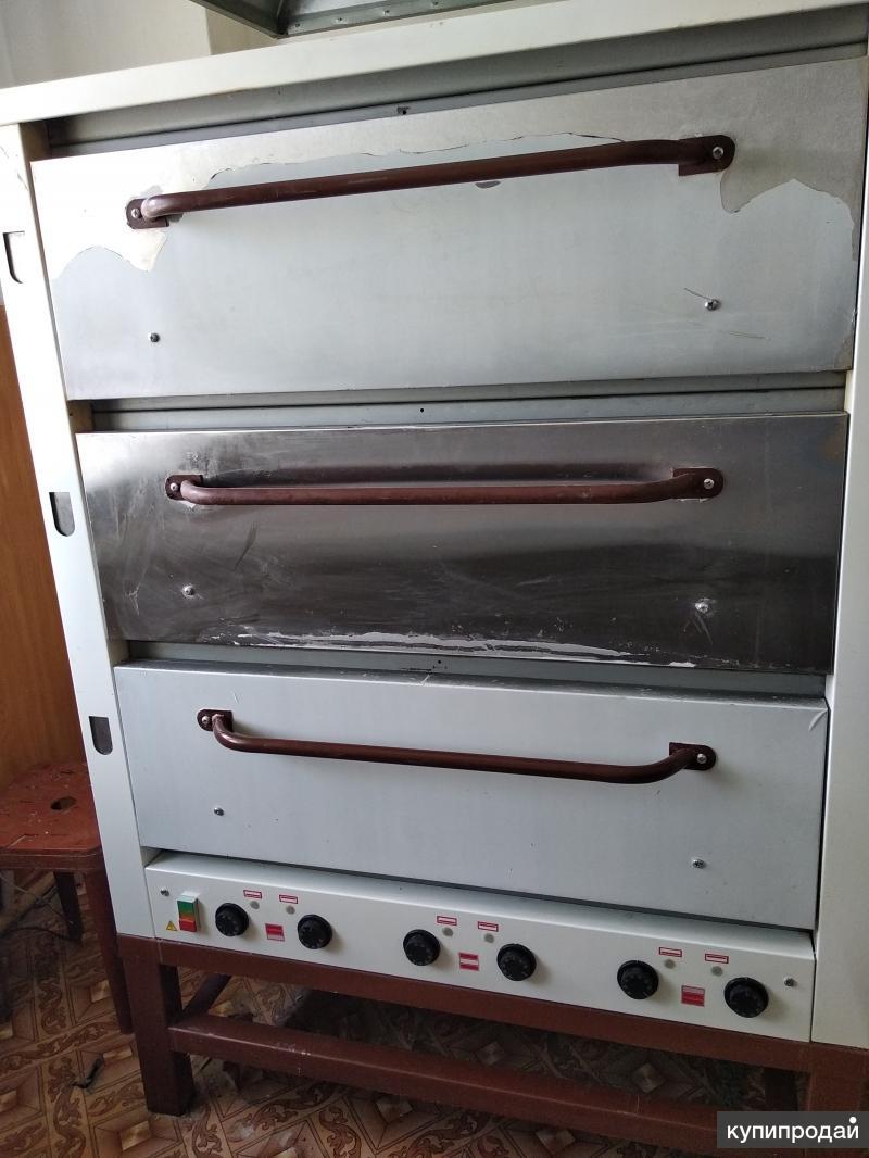 Хлебопекарная печь ХПЭ - 500 нержавейка, новая в упаковке