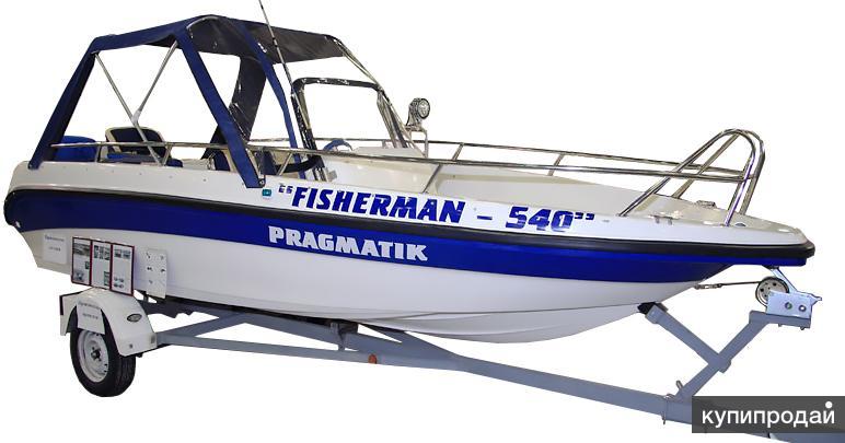 Продам катер Pragmatic 540 Рыбак