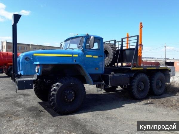 Лесовоз Урал 4320 ГМ роспуск прицеп