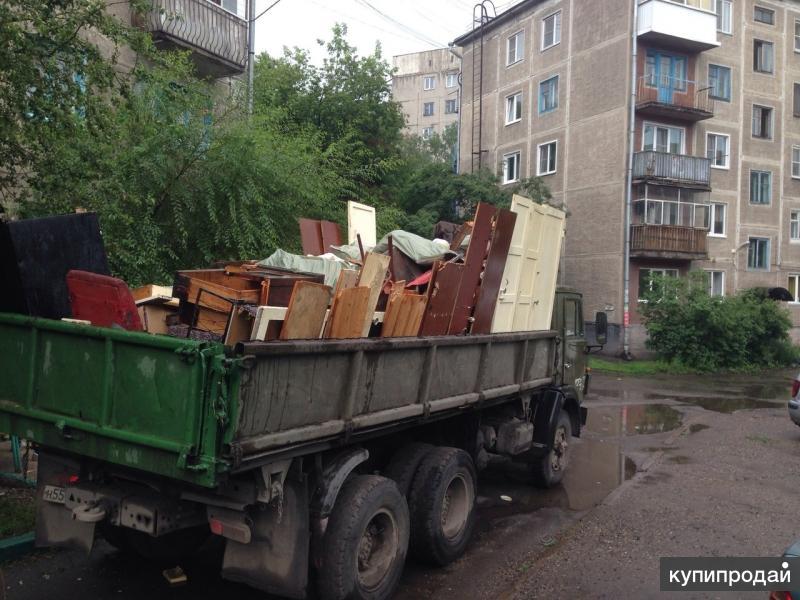 Вывоз мусор (ветки, строительный, ванны, метал, кирпич, плитка, и мн.др), снега