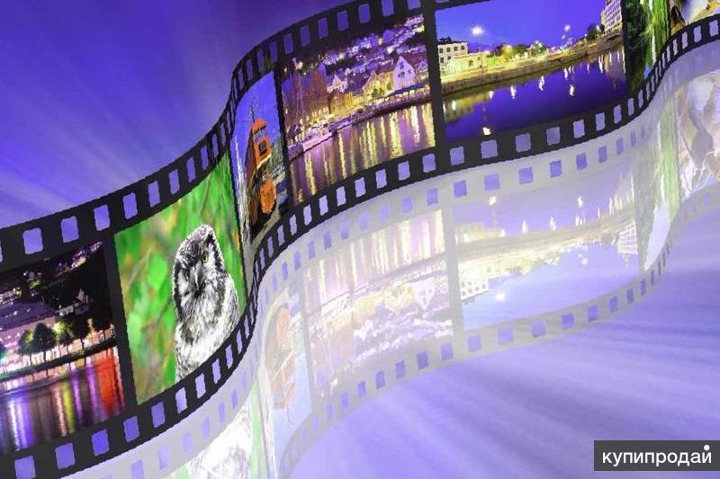 изготовление слайд шоу из фотографий с музыкой его двух