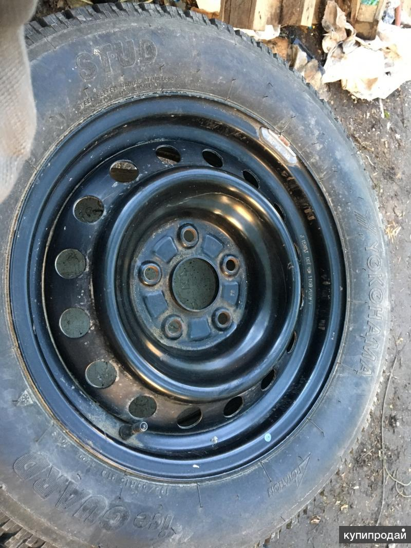 Комплект колес R15 5*114,3 Toyota, Honda, Mitsubishi ЗИМА Yokohama Ice Guard