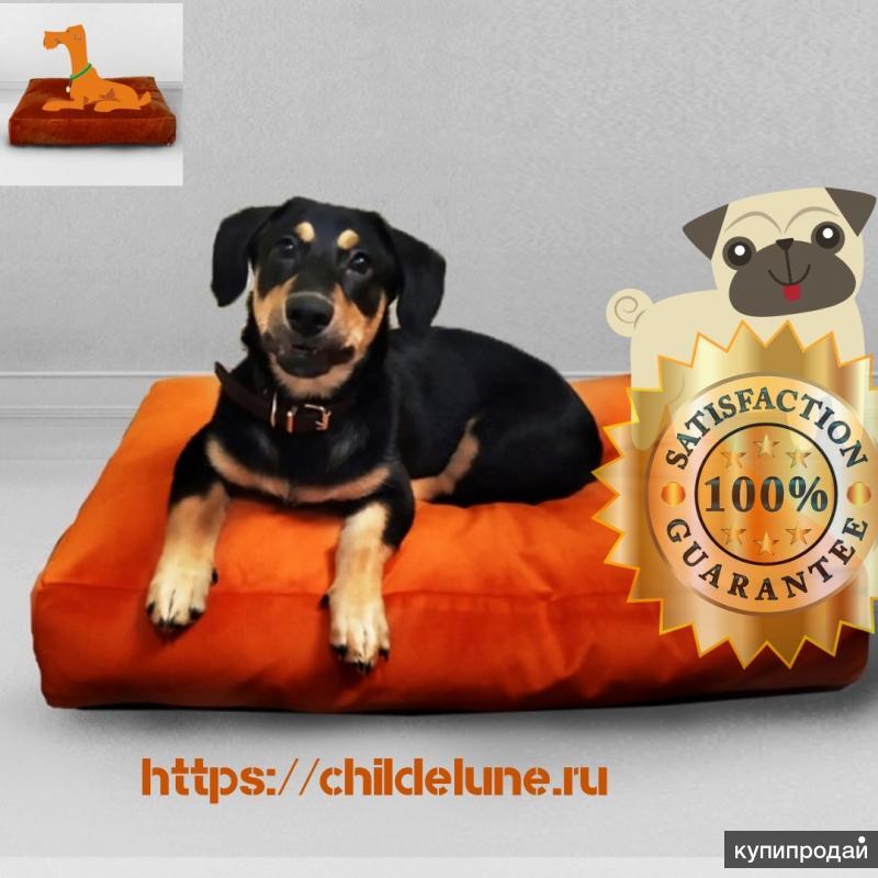 """Лежак для собаки """"Лисий цвет"""", Сhildelune"""