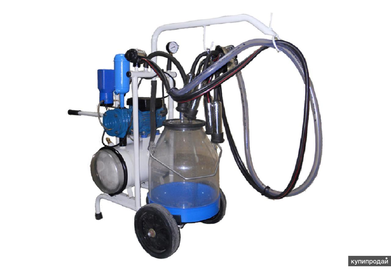 Агрегат доильный АИД-2-05 попарного доение