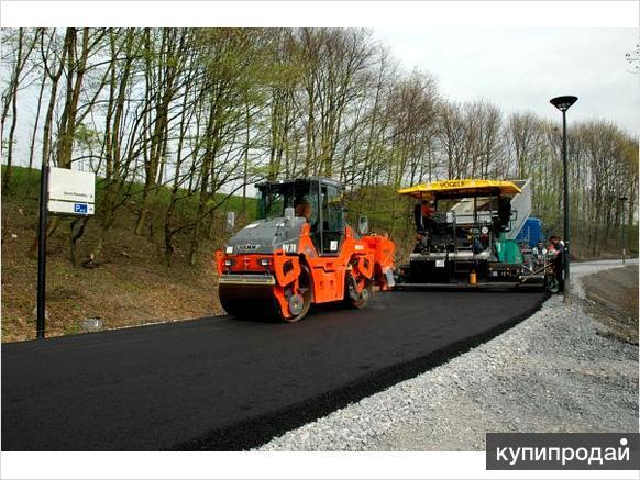 Услуги по ремонту и строительству дорог